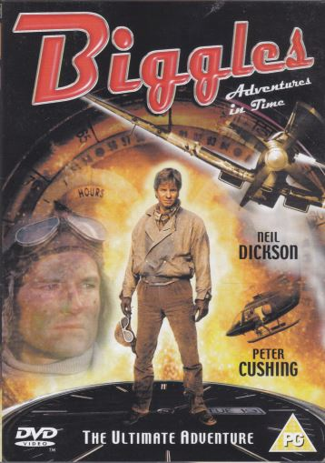 DVD Biggles Adventures in time